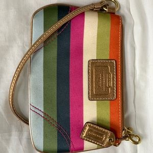 COACH Multicolored Clutch